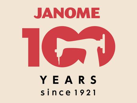 Janome's 100 Year Anniversary!