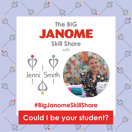 Janome - Could I be Your Student?