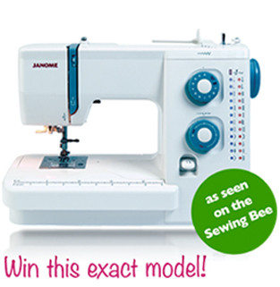 We've teamed up with William Gee to give you the chance to win our award-winning 525s Sewing Machine