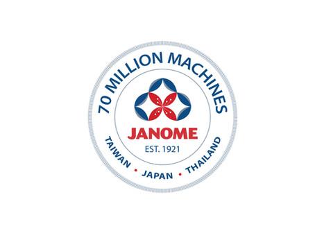 Janome celebrates the production of 70 Million Sewing Machines