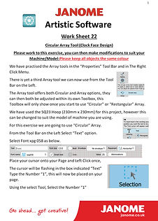 Janome-Work-Sheet-22-Clock-Face-Project-