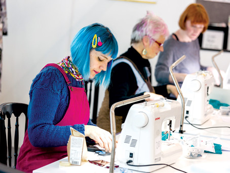 Janome at the Spring Sewing School!