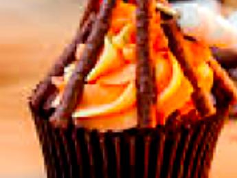 Vegan Peanut Butter Bonfire Night Muffins