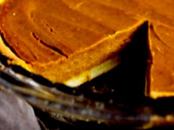 Vegan Peanut Pumpkin Pie