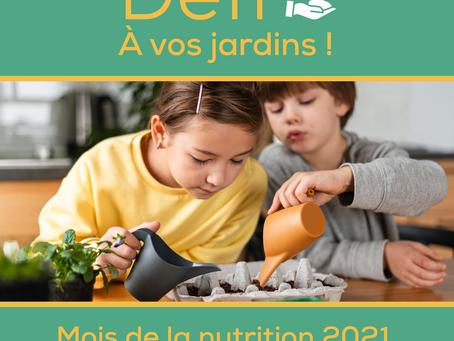 Mars, Mois de la nutritionMD : Bon pour vous, et à votre goût!
