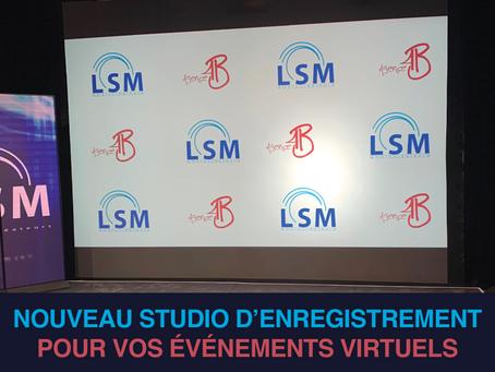 LSM AMBIOCRÉATEURS LANCE UN NOUVEAU STUDIO D'ENREGISTREMENT
