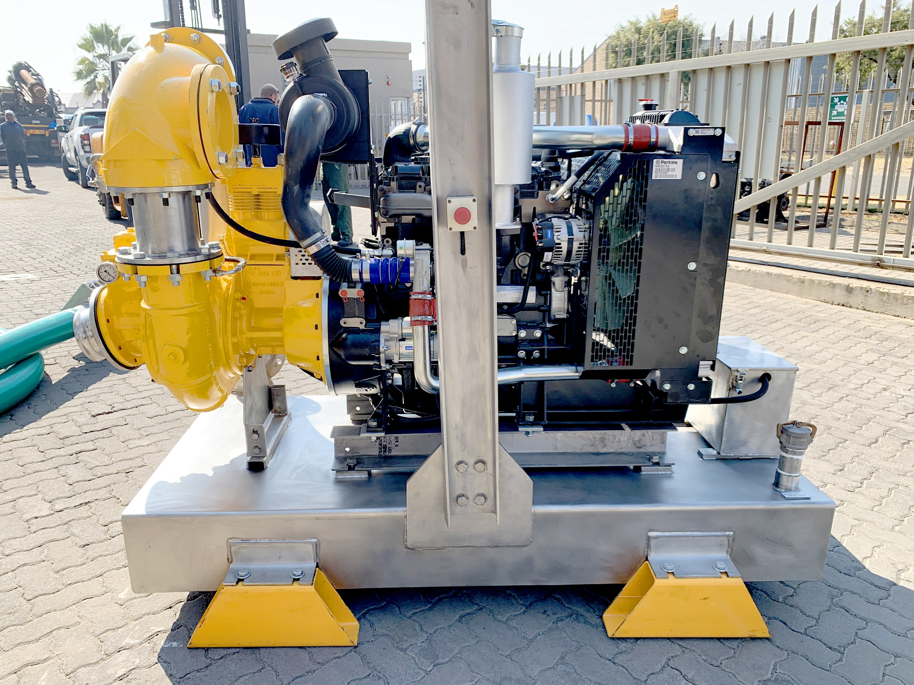Stainless steel pump solution for Namibian mine