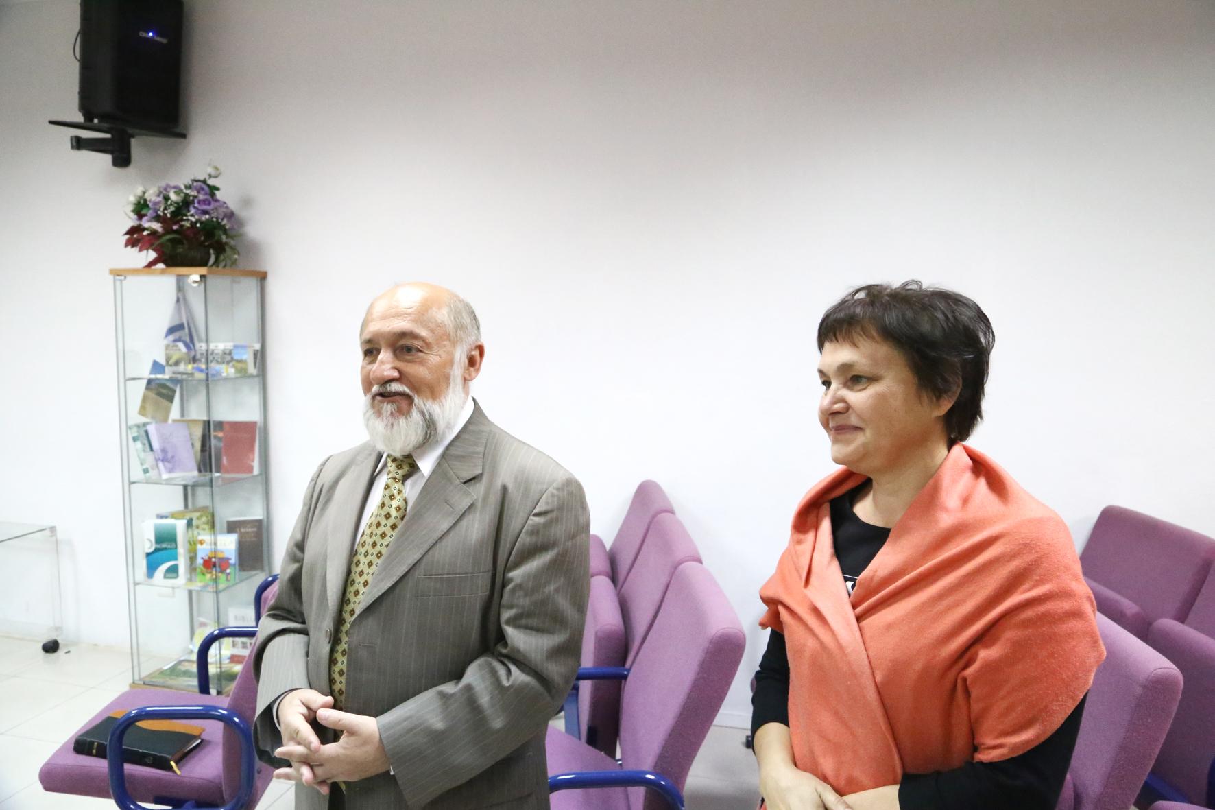 Бр. Владимир с супругой Лидией