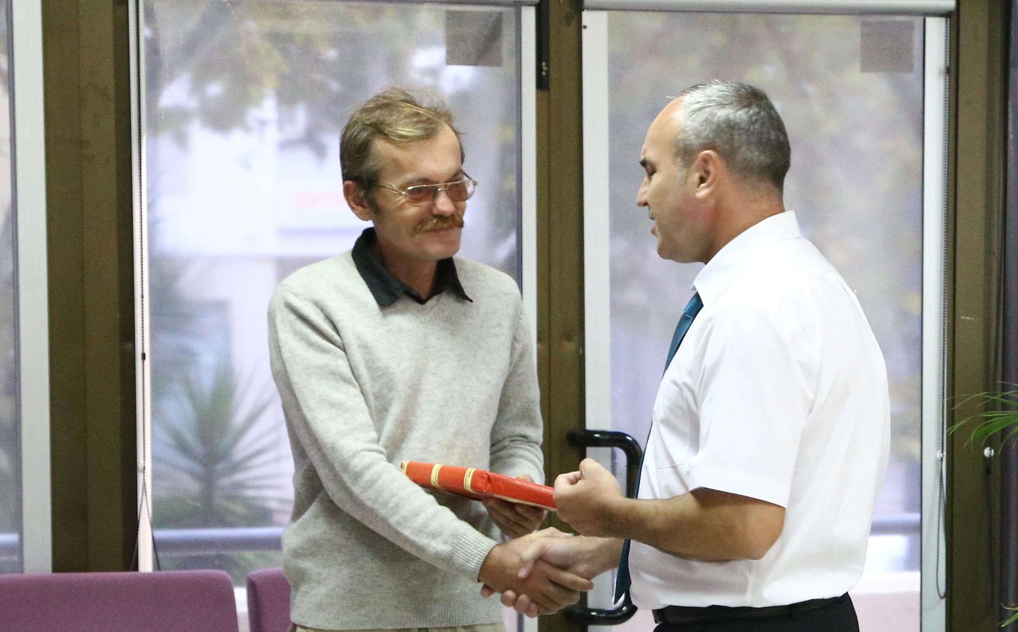 Поздравляем Сергея Маслова