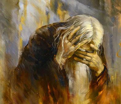 Когда слезами горю поможешь
