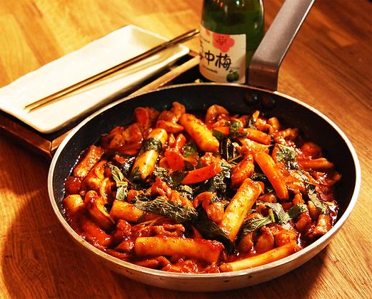 [MK026] 춘천닭갈비(DackGalbi)- Spicy Stir-fried Chicken