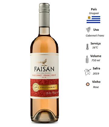 Faisán Cabernet Franc Rosé 2019