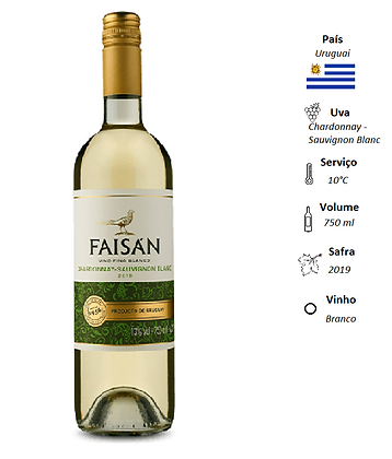 Faisán Chardonnay / Sauvignon Blanc 2019