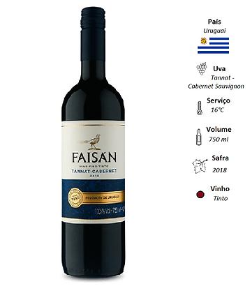 Faisán Tannat / Cabernet Sauvignon 2018