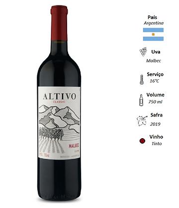Altivo Classic Mendoza Malbec 2019