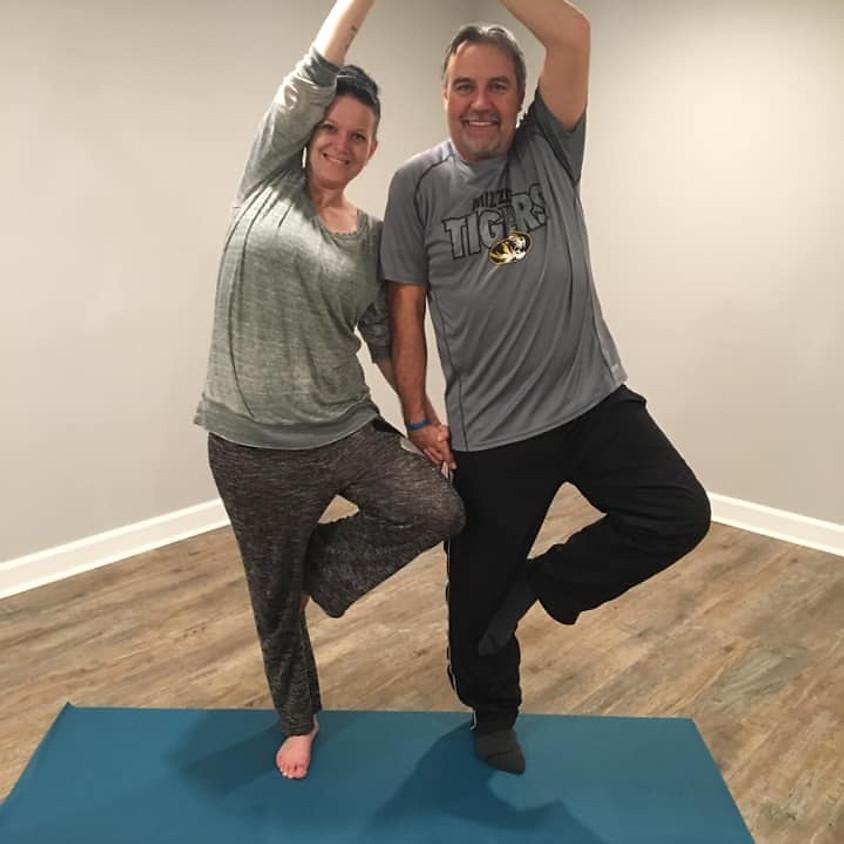 Partner Yoga on Tap
