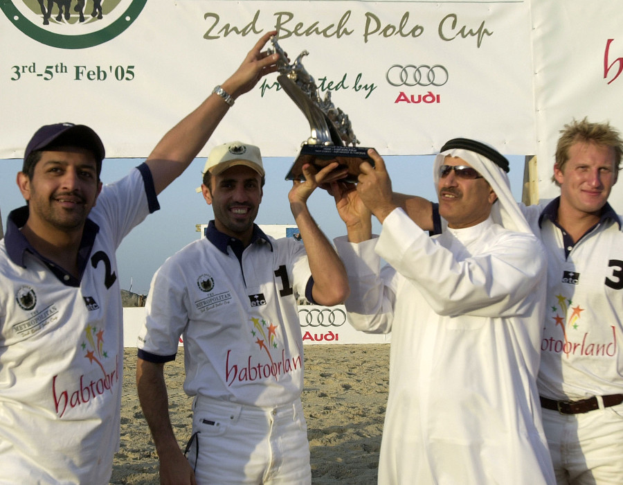 Beginners Luck continues into the 2nd Beach Polo Cup