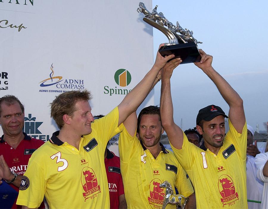 Dubai's 1st Beach Polo Dubai Champions