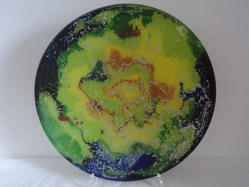 Fused Glass Platter II - Chris Bailey