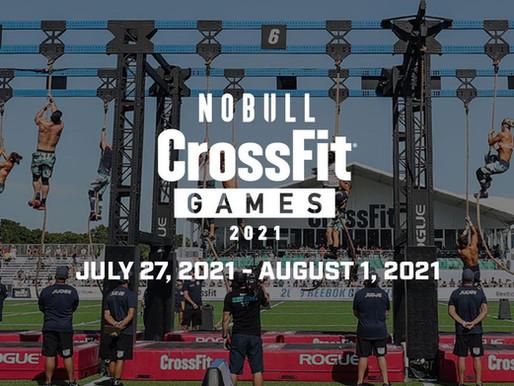 2021 NoBull CrossFit Games Schedule