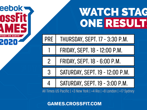How To Watch The 2020 Reebok CrossFit Games