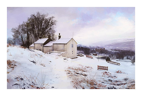White Wells In Snow - Laura Dawes