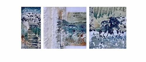 Abstract Sea Fragments - Pippa Hamilton