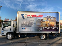 Vanguard Waterproofing Truck