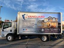 Vanguard Waterproofing Truck