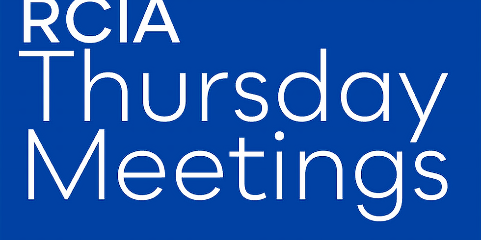 RCIA: Thursday Meetings