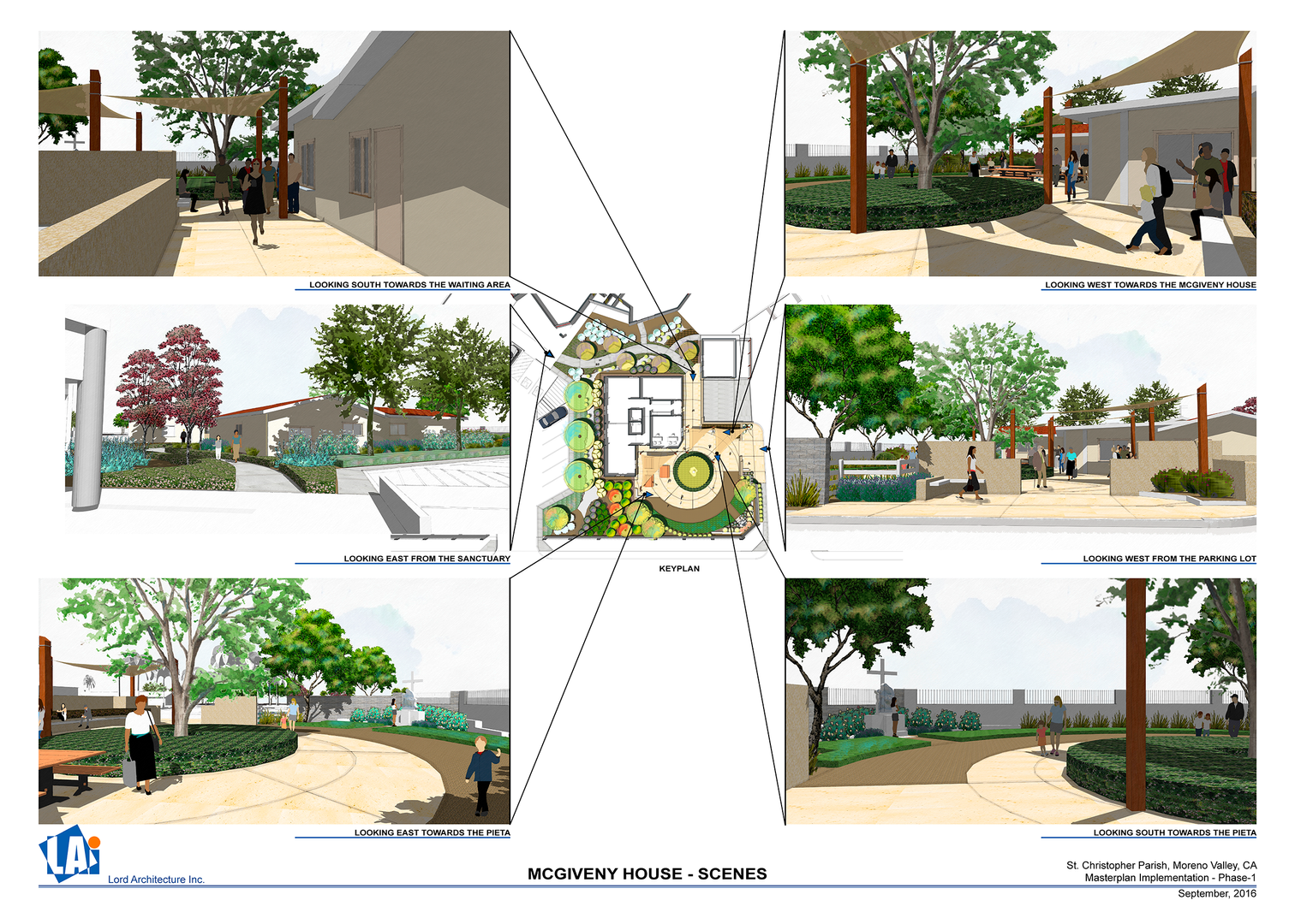 McGivney House Renovation  -Concept Drawing 1