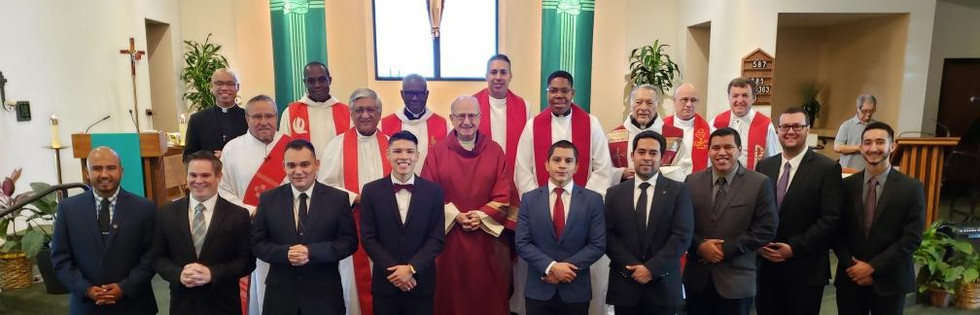 Bishop Rutilio Del'Riego's 2020 welcoming Mass for new Seminarians at CTR