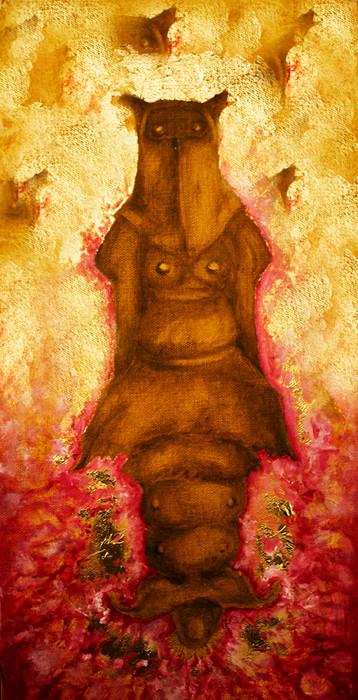 'Chrysalis', Oil on Canvas