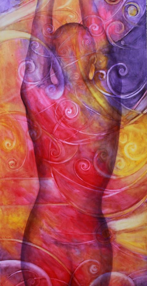 'Quark Party', Oil on Canvas