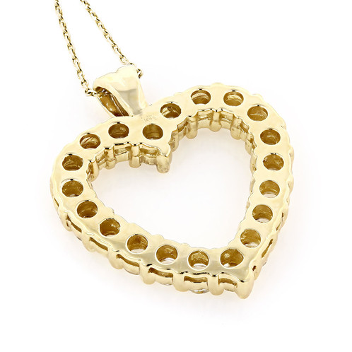 14k yellow gold diamond heart pendant diamond engagement rings 14k yellow gold diamond heart pendant aloadofball Choice Image