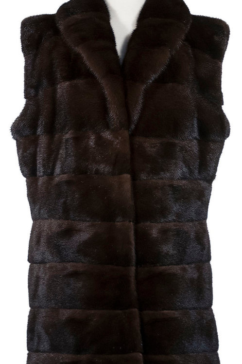 Female mink vest