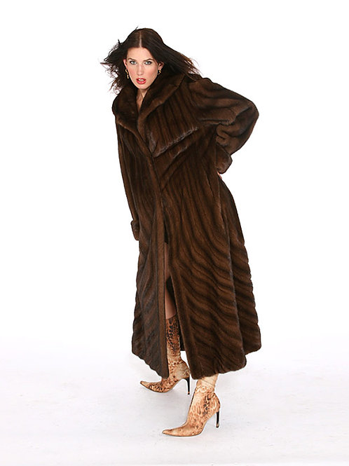 Blackglama and Mahogany Mink Coat