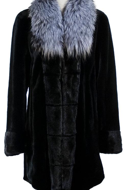 Female mink jacket