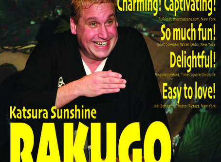 Day 93 - Invested in Rakugo
