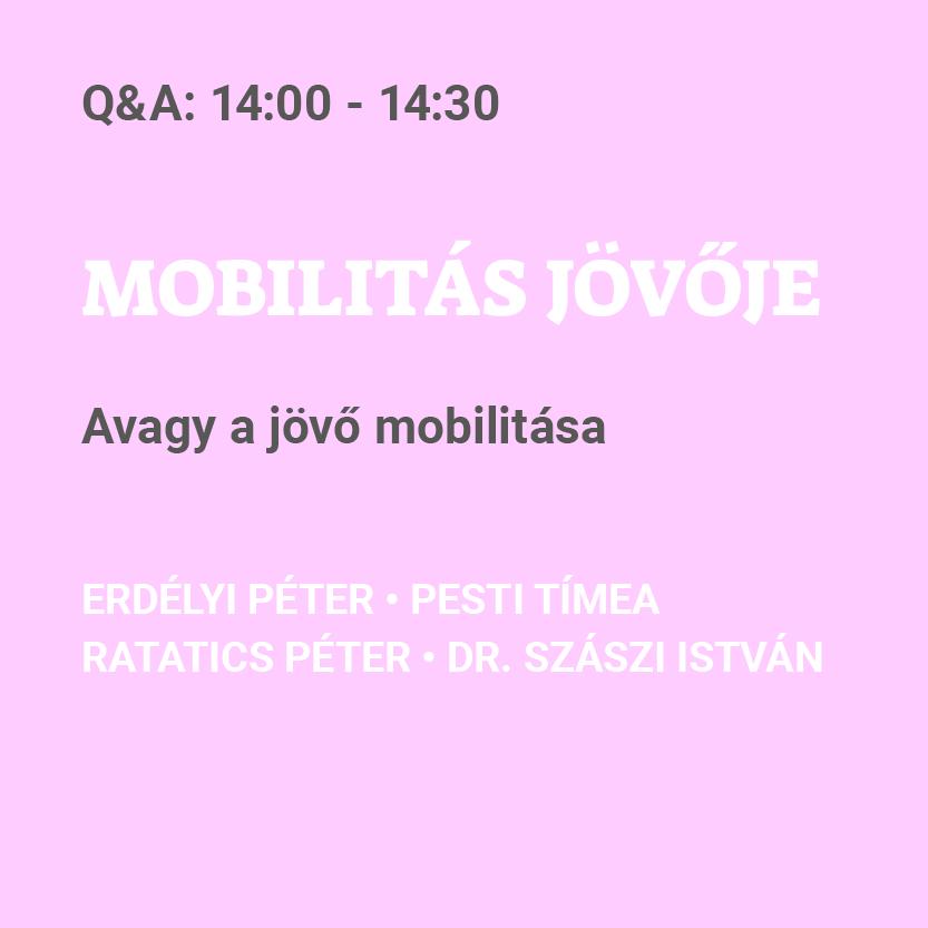 MOBILITÁS JÖVŐJE