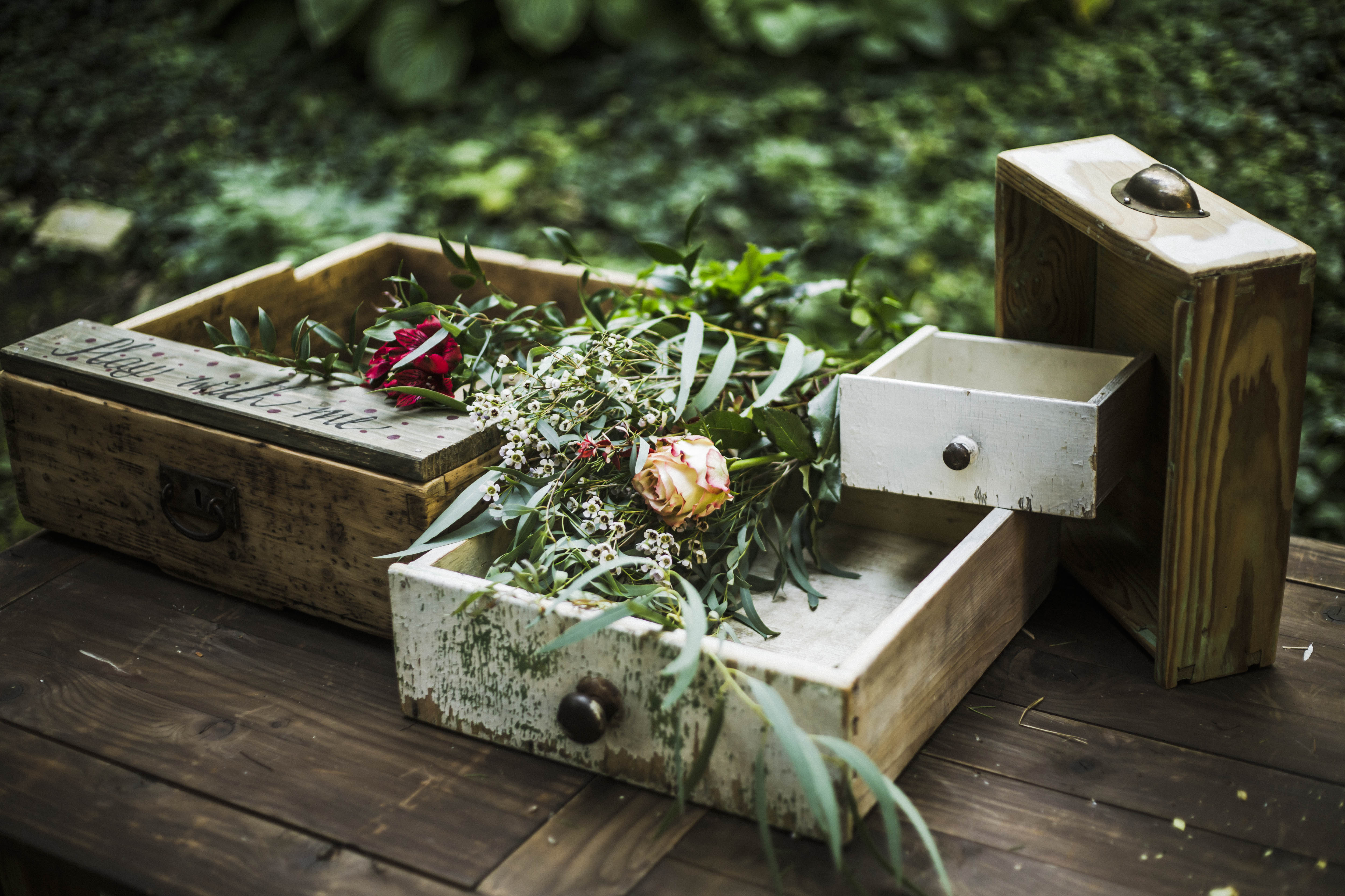Table drawers by wedoweddingservice