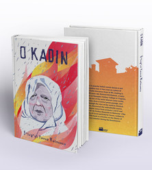 """O KADIN"" BOOK COVER"