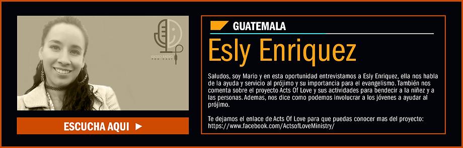 IGOZO PODCAST Esly Enriquez.png