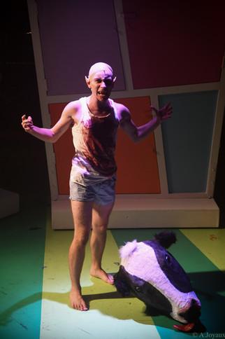 Samuel Stevenson as 'Bat Boy'
