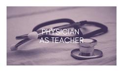 physician as teacher