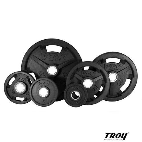GO-VR VTX Rubber Grip Plates (Troy Barbell)