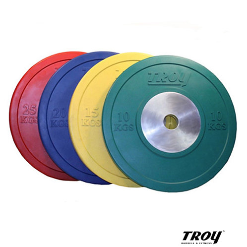 CO-SBP Colored Bumper Plates (Troy Barbell)
