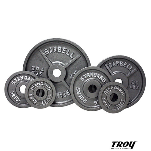O Olympic Grey Weights (Troy Barbell)