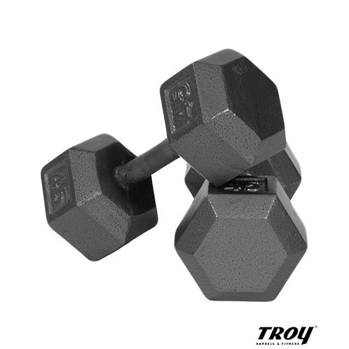 IHD Solid Hex Dumbbell (Troy Barbell)