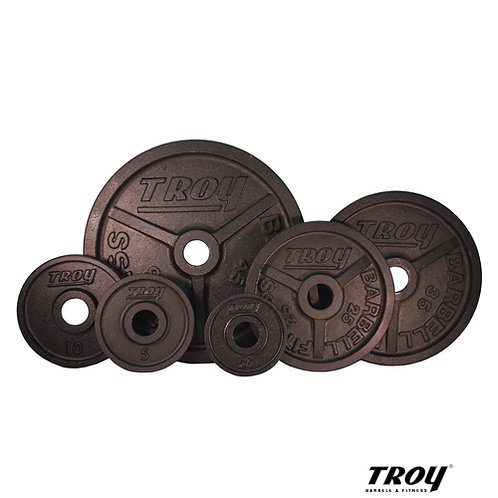 PO Premium Wide Flanged Plates (Troy Barbell)